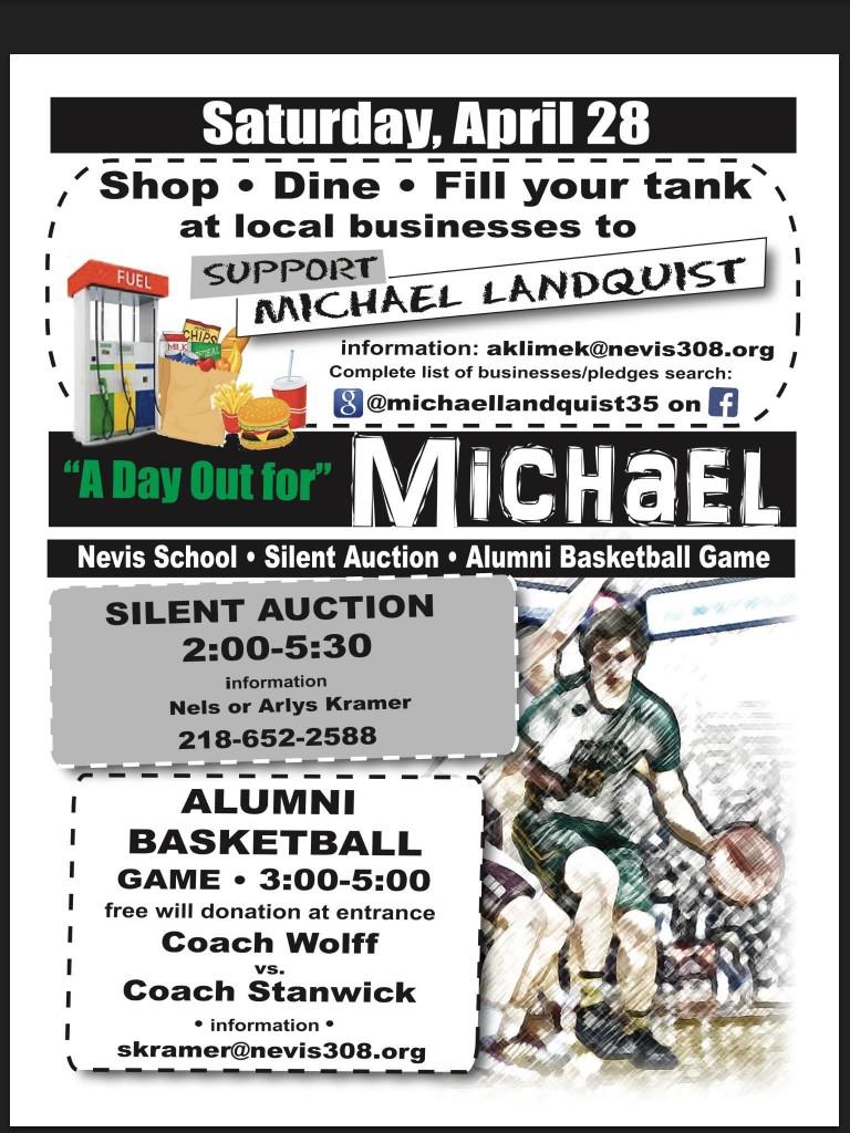 Fundraiser in Nevis for Michael Landquist