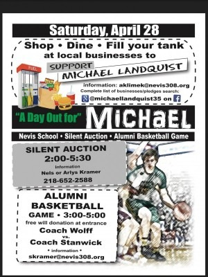 Fundraiser in Nevis for Michael Landquist, a family-friendly event.