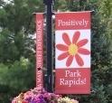park rapids sign