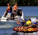 boating on park rapids lake