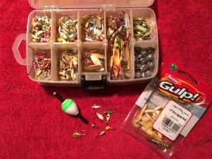 ice fishig tackle box