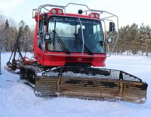 Snowmobile Groomer