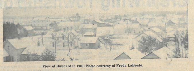 Hubbard in 1900