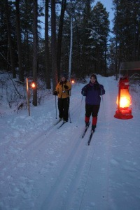 Lantern Lit Event at Itasca State Park