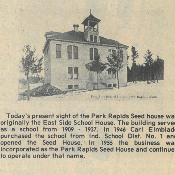 Park Rapids Seed House