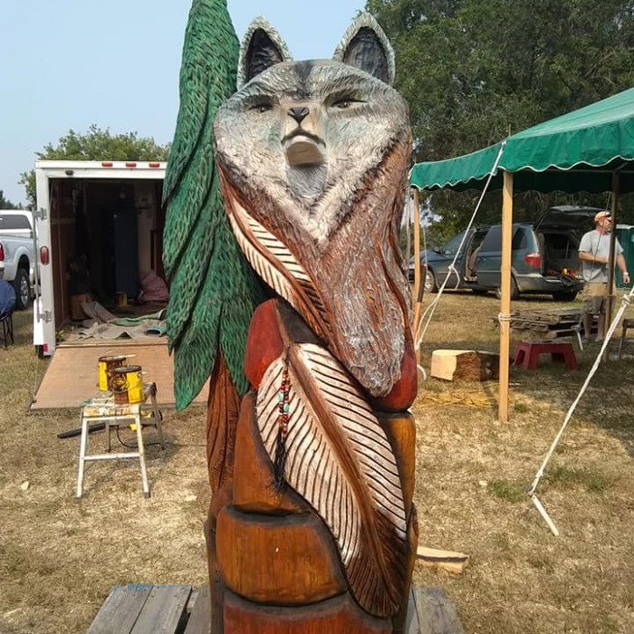 How to contact the chainsaw artists park rapids