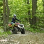 ATV on Spider Lake Trail