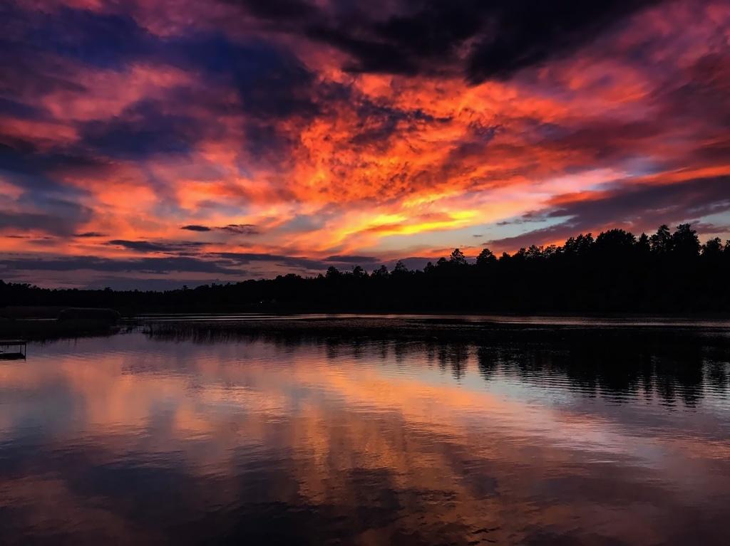 Little Sand Sunrise Photo is by Barbra Wicks
