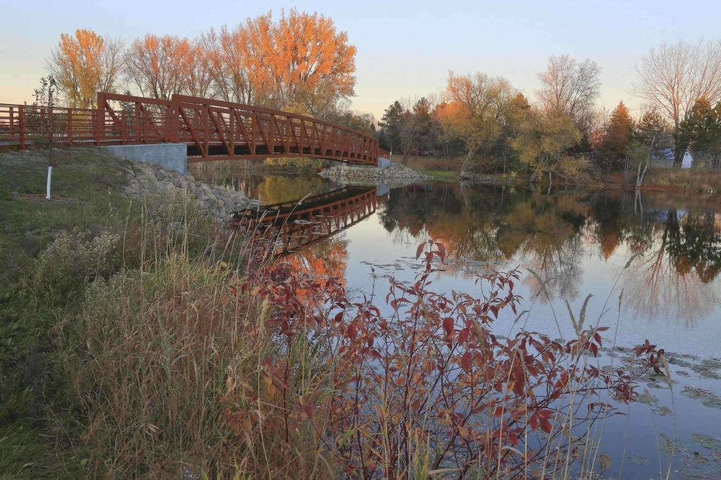 new bridge - fall