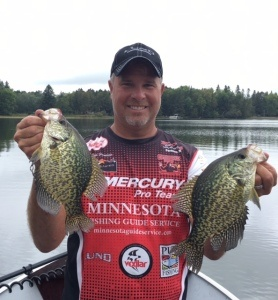 crappies me boat